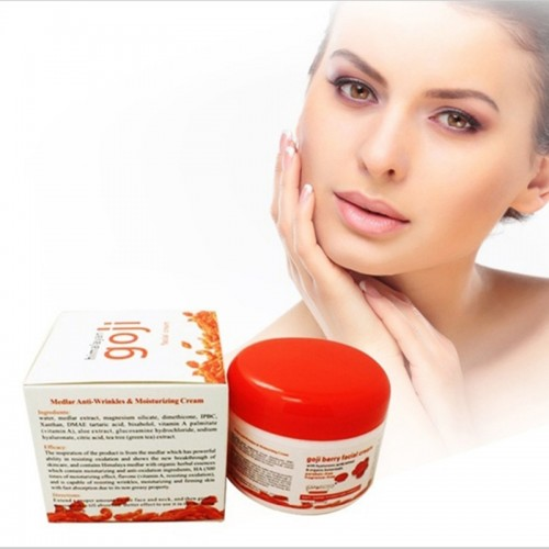 Goji Face Cream Chinese Wolfberry Anti-Wrinkle, Anti-Aging, Mositurizing Cream
