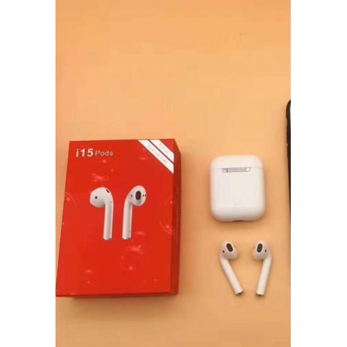 I15 Pods  Pop Up Touch Control TWS Bluetooth 5.0 Earphone Sports  Wireless Charging Earbuds