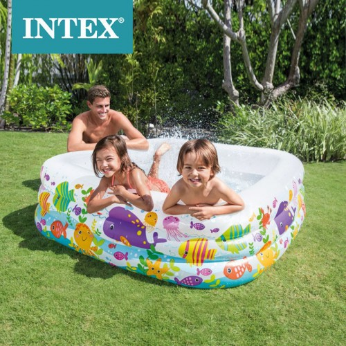 Intex Inflatable Swimming Pool Children's Home Play Pool Indoor Water Park