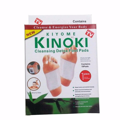 Kinoki Detox Foot Pads Patches Relaxation Massage Relief Stress Feet Care