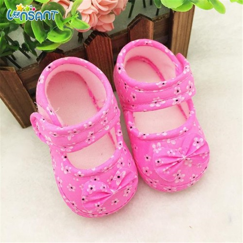 Cute Floral Breathable Anti Slip Baby Shoes