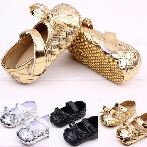 Leather Antislip First Walkers For Baby Girl Infant Shoes