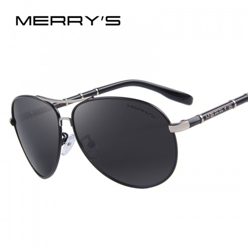 Mens Classic Aviation Sunglasses HD Polarized Aluminum Driving Luxury Sun glasses