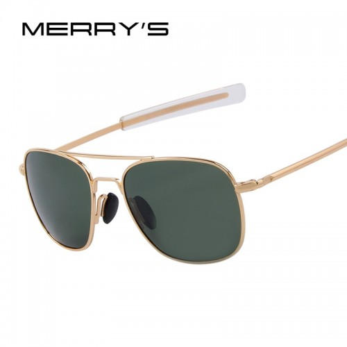 Fashion Men Polarized Sunglasses Brand Design Driving Sunglasses Alloy Rectangle Frame
