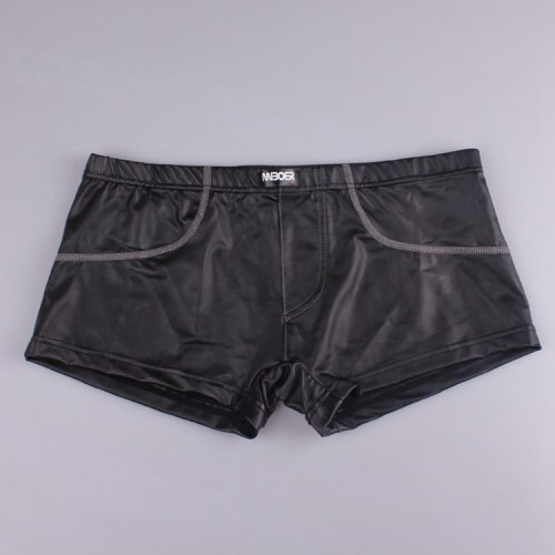 Leather Men's Pull In Boxer