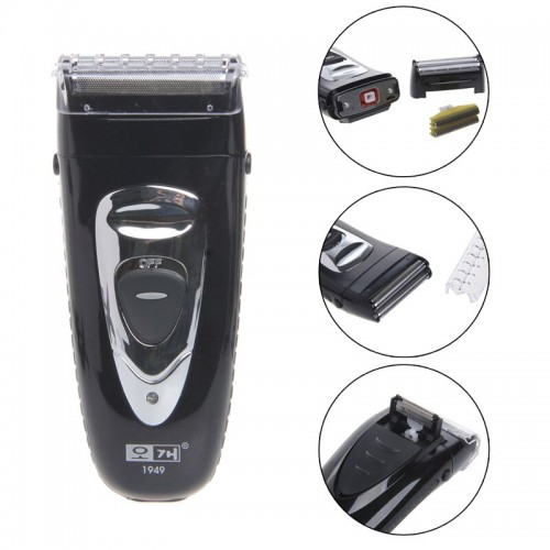 Mens Rechargeable Cordless Electric Hair Razor Facial Shaver Groomer Trimmer