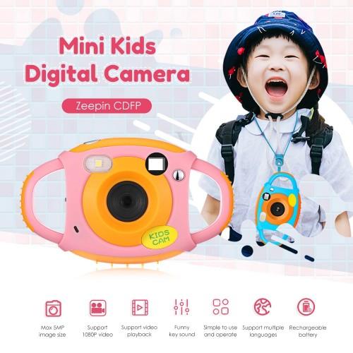 Children Creative Camera 1.77 Inch WiFi 5MP Kids Mini Digital Camera