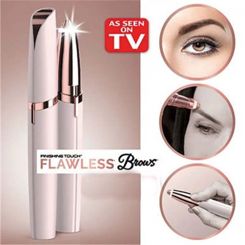 Electric Eyebrow Trimmer Makeup Mini Eye Brow Shaver Razor Portable Epilator Facial Hair Remover For Women