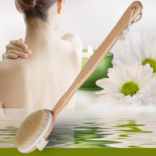 Bath Shower Scrubber Dry Skin Exfoliation Brush Massager