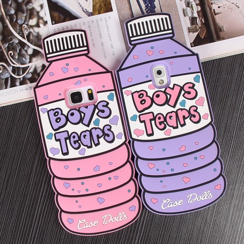 3D Silicone Boy Tears Bottle Shape Soft Silicone Back Cover Case