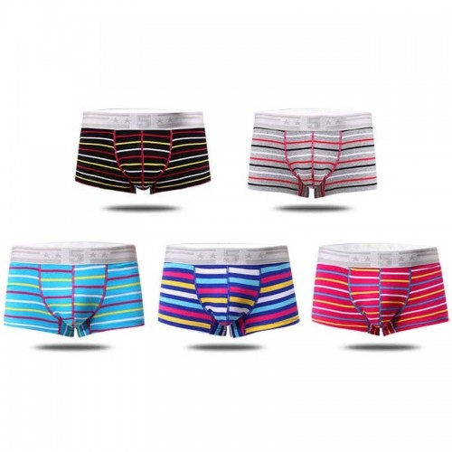 Mens Lining Boxer Breathable Shorts Casual Underpants