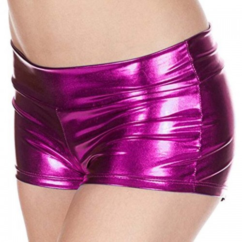 New Patent Leather PU Shorts