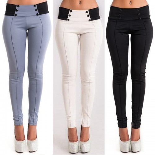 Casual Pants Slim Stretch Women Pencil Pants