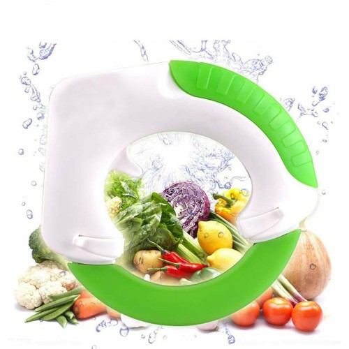 Kitchen Accessories Vegetable Chopper Slicer Round Sharp Knife Easy Cutter Stainless Circular Rolling Cutter