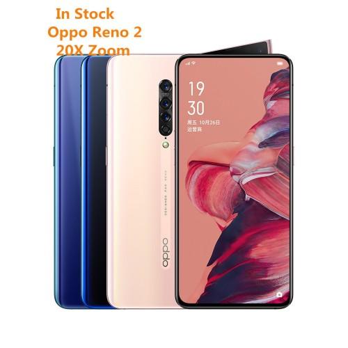 OPPO Reno 2 8GB 128GB/256GB NFC  Goolge Play 48MP 13MP 8MP 2MP 4 Cameras 2400x1080P Snapdragon 730