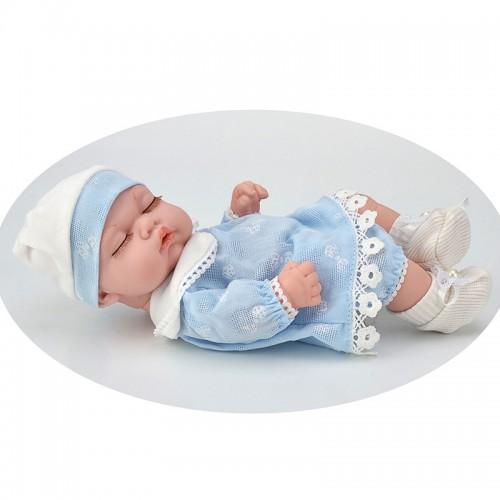 Children 10-Inch Model Primary Doll PVC Doll Sleeping Face