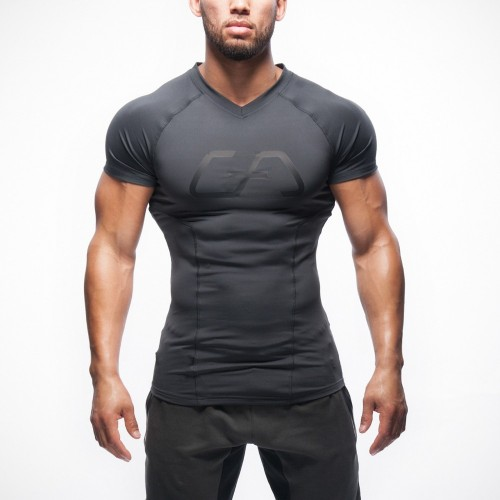 Gymshark polyester patchwork T-shirt