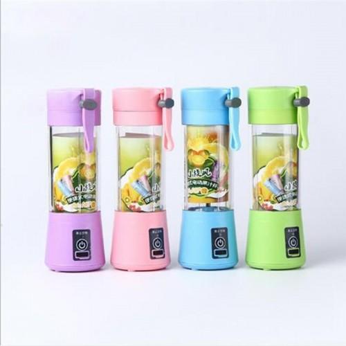 Dual Blade USB Charger Portable Juice Blender Mixer Fruit Electric Mixer