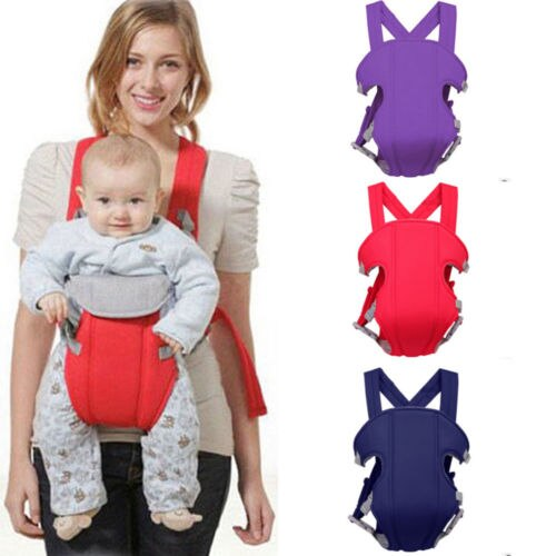 Newborn Baby Carrier Breathable Ergonomic Adjustable Wrap Sling Backpack Front Seat Chair