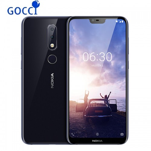 Nokia 6.1 Plus 4GB 64GB Mobile Phone 5.8 Inch 18:9 FHD Snapdragon 636 Octa Core Fingerprint ID Smartphone