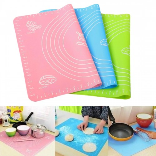 Non-stick Bakeware Cooking Tool for Oven Scale Rolling Dough Mat Baking Mat