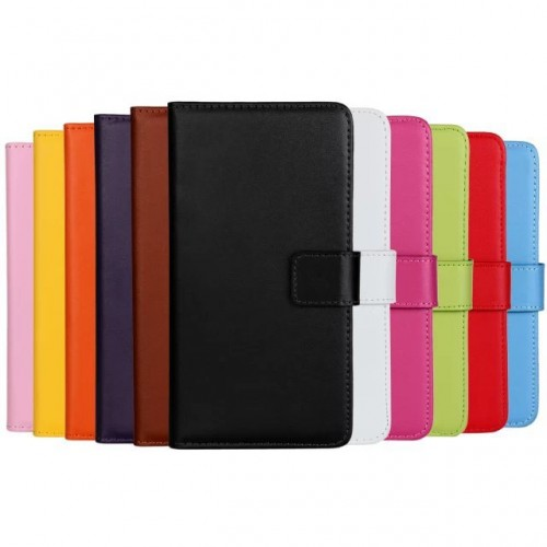 Stylish Leather Wallet Cases For Samsung Note 2,3,4,5,7