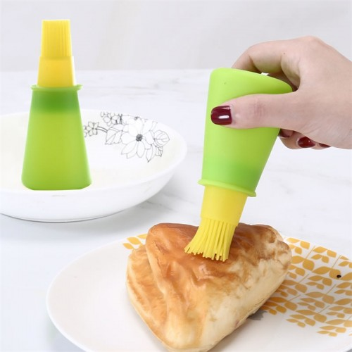 Tools Kitchen Accessories Silicone Oil Bottle with Brush
