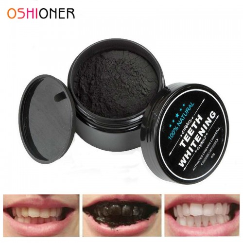 30g Teeth Whitening Oral Care Natural Activated Charcoal Powder Oral Hygiene