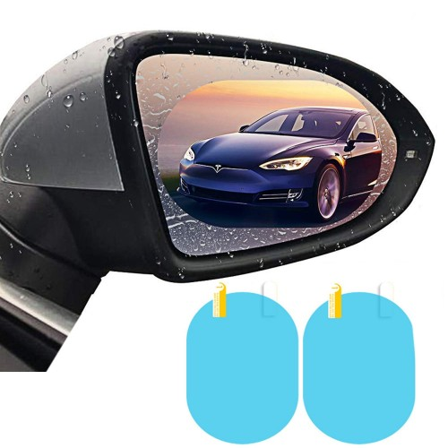 Car Anti Water Mist Film Anti Fog Rainproof Rearview Mirror Protective Film