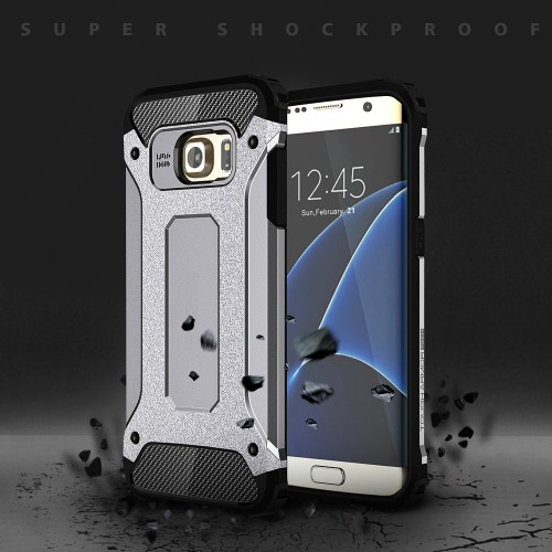Heavy Duty Shockproof Hybrid Armor Tough Hard Back Case Cover For Samsung & iPhone