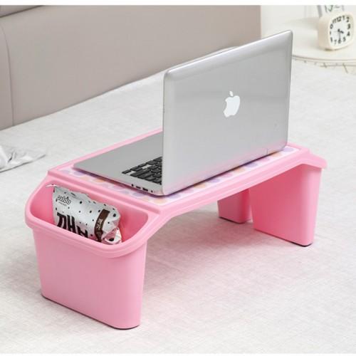 Plastic Mini Table For Kids Toddlers Babys Desk With Holder Organizer Portable Laptop Desks