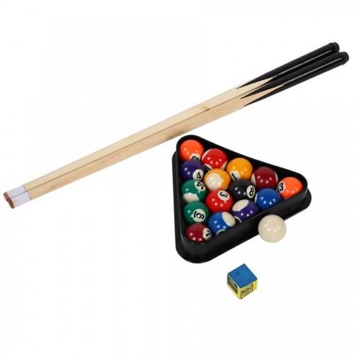 Portable Mini Pool Table Children Kids Snooker Billiards Set Cues Balls Indoor Sports