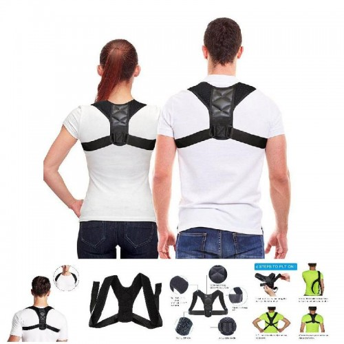 Posture Corrector Adjustable Back Shoulder Support Correction Belt