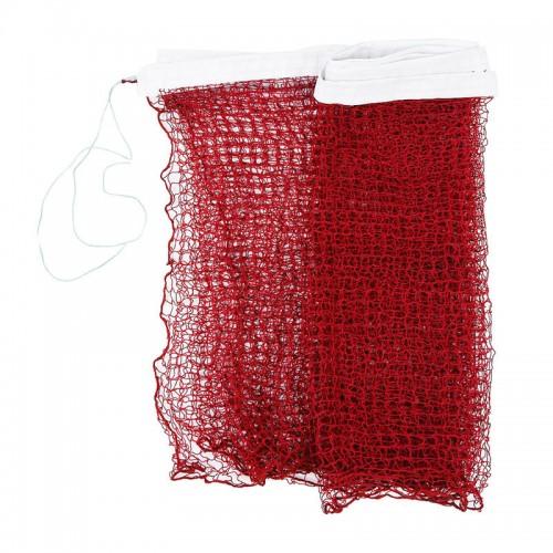 Professional Training Standard Braided Badminton Net 6.0m x 0.75m Red