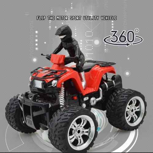 4 Wheel Remote Controlled Off Road Motorcycle