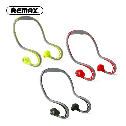 Remax S20 Bluetooth Sports In Ear Earphone Waterproof Super Bass Stereo Noise Canceling Wireless Headsets