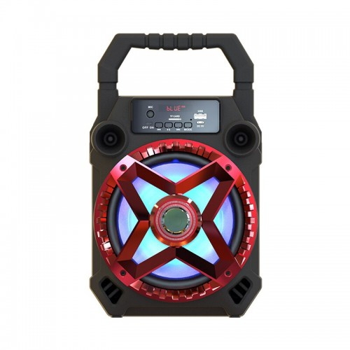 Multi Functional Wireless Bluetooth Speaker Big Drive Unit Bass Colorful Backlight