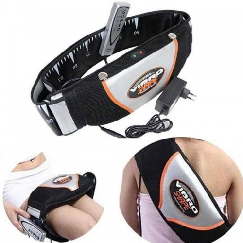 Sauna Heating Vibrating Belt Slimming Massager Belts Fat Burning Waist Belt Weight Loss