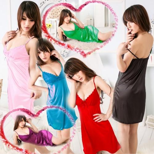 Women Lingerie Dress Sleepwear G-string
