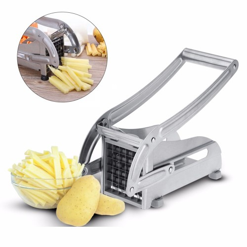 Stainless Steel French Fries Potato Cutter Slicer Potato Chips Making Machine