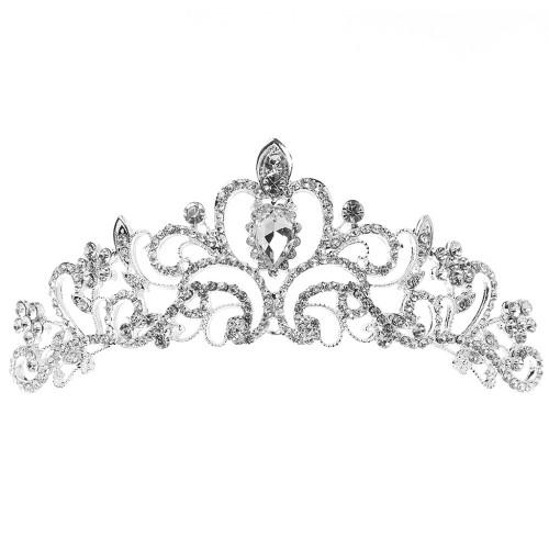 Stunning Princess Austrian Bridal Crystal Hair Tiara Crown Headband