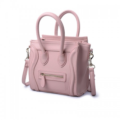 Small Women Handbags Famous Designer Brand Messenger Bags Smile Face Lady Purse Tote Handbags