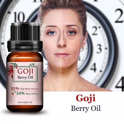 Super Chinese Wolf Berry Anti Wrinkle Anti Aging Acid Goji Berry Rose Flavor Essential Oil
