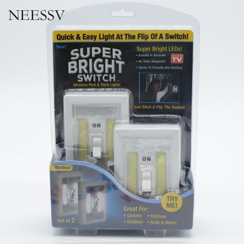Super Bright Switch Wireless Peel and Stick LED Lights