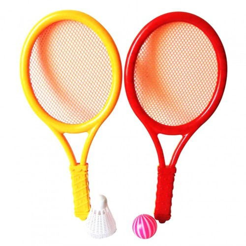 Kids Play Game Plastic Tennis Badminton Racket Sports Toy