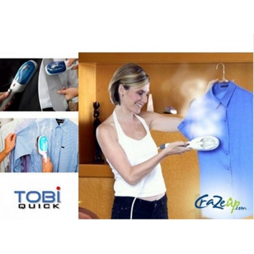 TOBi Travel Multifunction Handheld Portable Cleaner Electric Iron Steamer Dry Brush Ironing Garment Steamer
