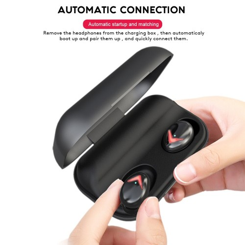 Touch Control Bluetooth 5.0 Earphone Waterproof Wireless Noise Cancelling Earbuds