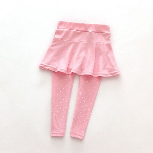 Toddler Girl Wool Culotte Render Pants Kid Child Legging Trousers Pantskirt 1-7 Years