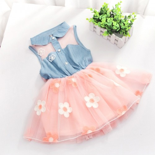 Princess Flower Tutu Dress Frock