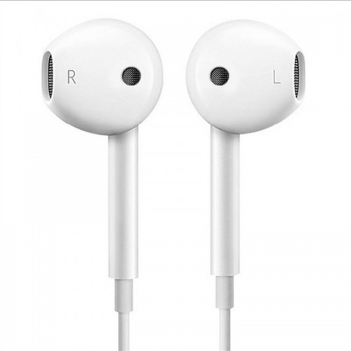 Type-c Wire Controlled Headset In Ear With Microphone Simple Street Earphone